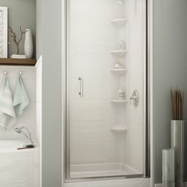 Shower with Glass Door